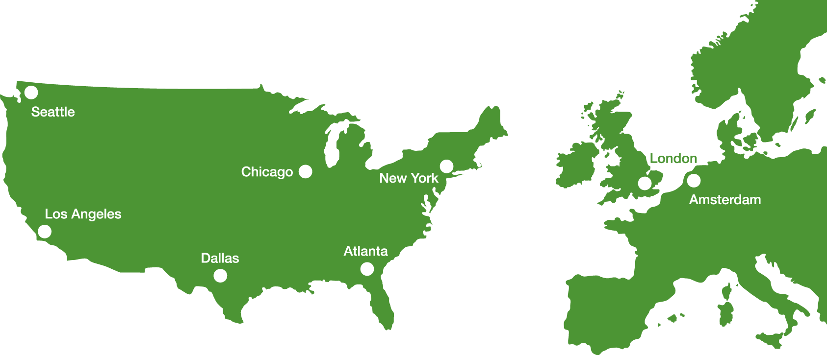 Sharedbands global offices and data centres